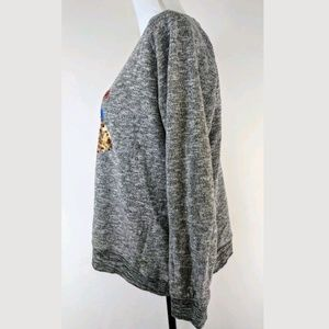 Joe Browns Sweaters - Joe Browns Sequence Owl Hearts Pullover Sweater
